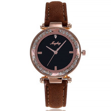 2019 New Women Watches Rhinestone Luxury Lady Wristwatches Leather Fashion Causal Dress Watch Women Quartz Watch Bracelet Watch цена