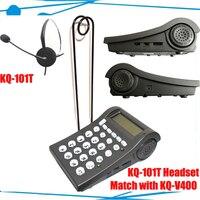 Call Center & bom fone de ouvido de telefone Telefone Do Escritório Fone de Ouvido especial para o negócio 2 pçs/lote DHL frete grátis