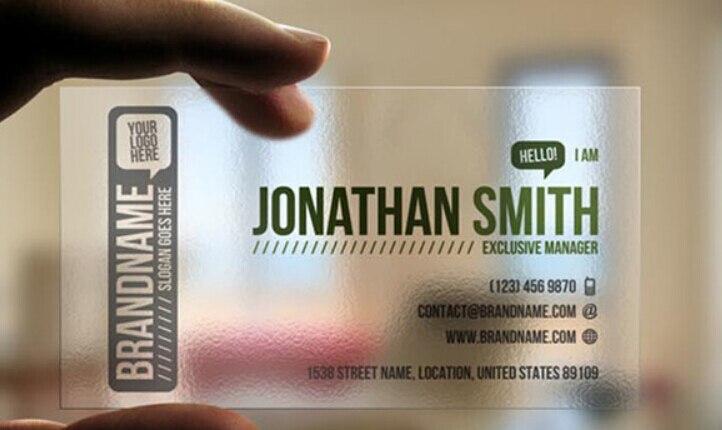 Us 35 0 Freies Verschiffen Fertigte Visitenkarte Transparent Visitenkarte 0 40mm Matt Pvc Visitenkarte Druck In Visitenkarten Aus Büro Und