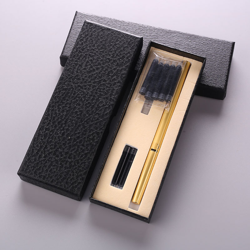 1 set Soft head pen calligraphy pen style brush practice Word new tap water pen can plus ink small Regular script Random Color цена