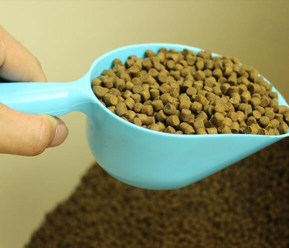 Pet Food Shovel Dog Food Cat Food Shovel High Quality Green Pet Food Shovel Utensils Random Color  Lyq #2