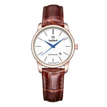 New Fashion Brand Watch Women Quartz Clock S Shock Resistant Complete Calendar Leather Watch Womens Orologi