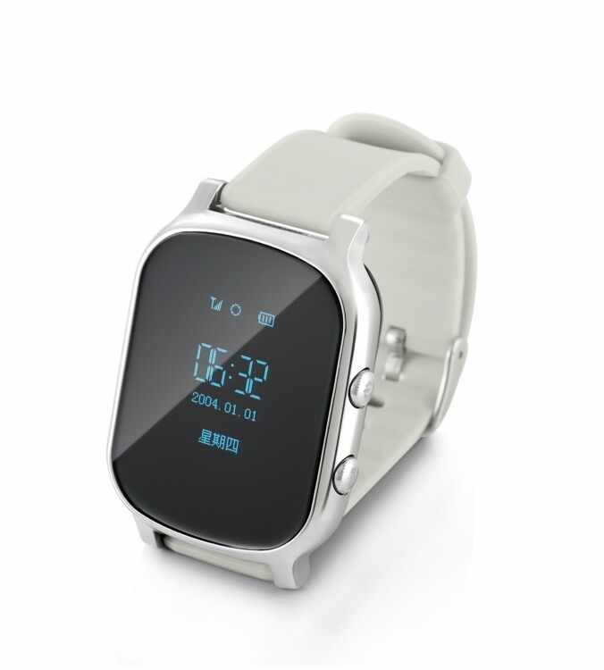 OLED Screen T58 Smart GPS WIFI Tracker Locator Anti-Lost Watch for Kid Elder Child Student Smartwatch with SOS Remote Monitor