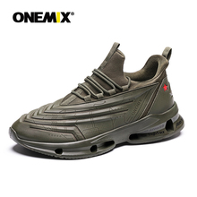 New ONEMIX Men Walking Shoes Amy Man Speed Sneakers Cross-country Running Shoes Male Sneakers Athletic Shoes Black Sport Shoes цена в Москве и Питере