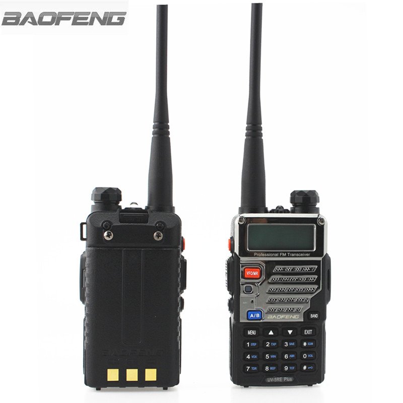 Image 2 - BaoFeng UV 5RE Plus Walkie Talkie CB VHF UHF Portable Ham Amateur Two Way Radio 5W Dual Band For Hunting Trucker-in Walkie Talkie from Cellphones & Telecommunications