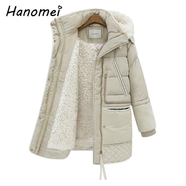 New Fashion Thick Mid-long Warm Casaco Feminino Inverno 2017 Plus Size Winter Jacket Women Down Coat Women's Down Jackets C467