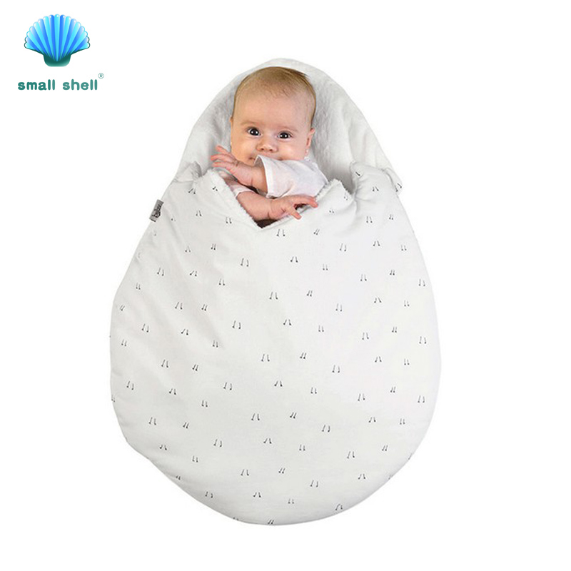 SMALL SHELL 2017 envelope for newborn Egg bag with winter stroller bed swaddle blanket wrap bedding
