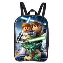 12 Pulgadas Nuevo Popular Bolso de Escuela de Dibujos Animados Mochilas Niños Star Wars mochila para Niños Niños Star Wars para Las Niñas Adolescentes Bolsas
