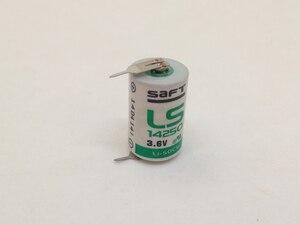 Абсолютно новые оригинальные SAFT LS14250 LS 14250 1/2 AA 1/2AA 3,6 V 1250mAh PLC литиевые батареи с контактами