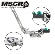 Universal Adjustable Aluminum Vertical Hydraulic Drifting Hand Brake With Special Master Cylinder S14 S13 silver