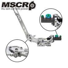 Universal Einstellbare Aluminium Vertikale Hydraulische Treiben Hand Bremse Mit Spezielle Master Zylinder S14 S13 silber
