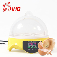 Cheap Price China Digital Temperature Small Brooder 7 Mini Hatchery Egg Incubator Hatcher for Chicken Duck Bird Pigeon Quail