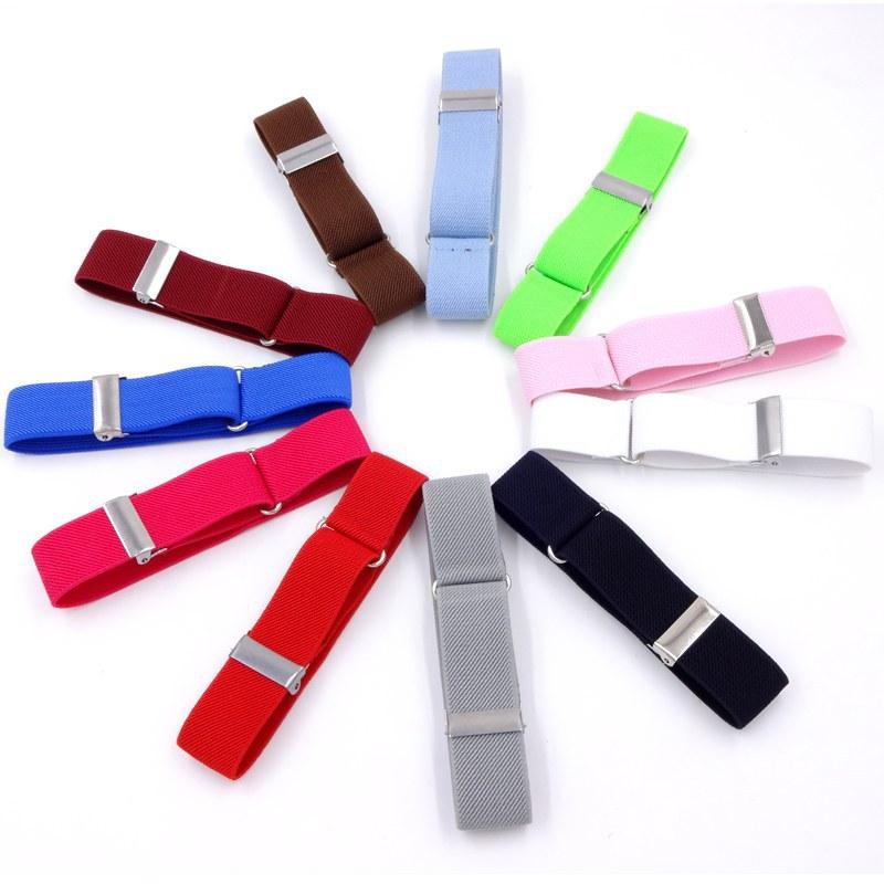 Elastic Unisex Armbands Sleeve Garter Adjustable Gift Shirt Sleeve Holders  Solid Color Adjustable Armband Sleeve Garter