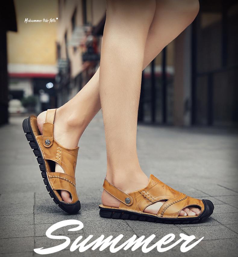 fdfb0f30f43f02 Chaussures sadals d'été pour hommes: chaussures de sport pour hommes  tout-aller. Sandales outdoor: zapatos hombre. Appartements d'été: sandalias  hombre ...