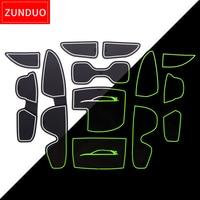 Portão slot pad Para Hyundai I30 I30 ZUNDUO N 2017-2018 Sulco Porta Tapete Automotivo interior Não-slip esteiras
