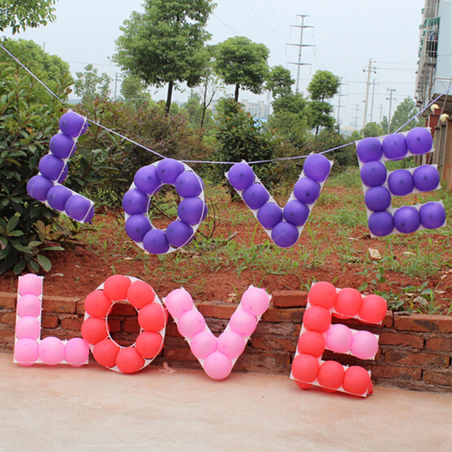 2018 Limited Baloons Balloons Grids For Marriage Party And