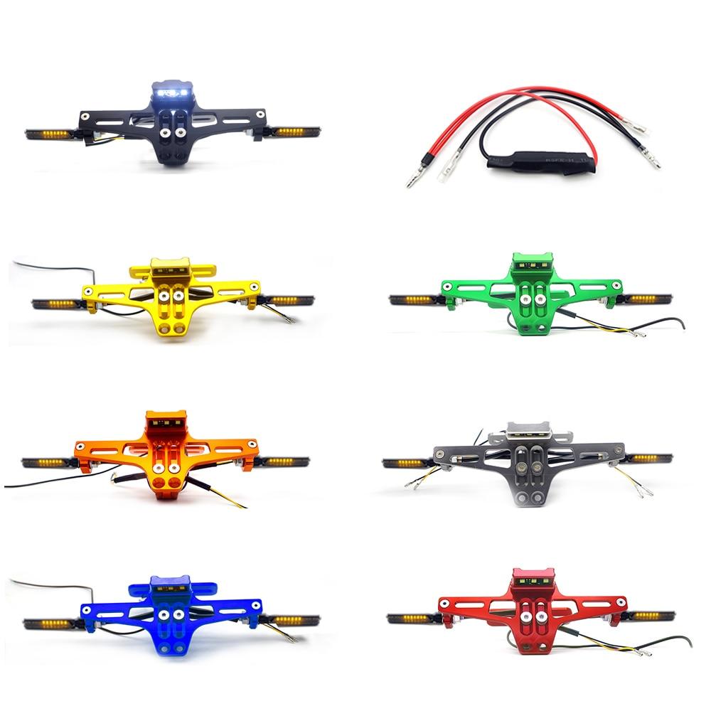 Support de CNC de moto plaque d'immatriculation LED pour yamaha yzf600r honda msx 125 suzuki sv 650 yamaha xmax yamaha thundercat