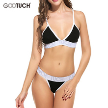 Summer Women's Sexy Lingerie Bikini Underwear Bra Brief Sets Brand Underwear Women Bra Briefs Patchwork Unlined Bras Set 2538