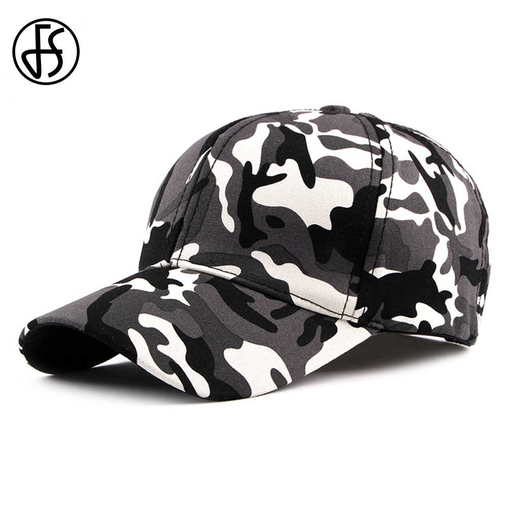 6ebcf6856a97a FS Fashion Camouflage Cap Hip Hop Branded Baseball Caps Women Men Snapback  Casquette Casual Gorra Camuflaje