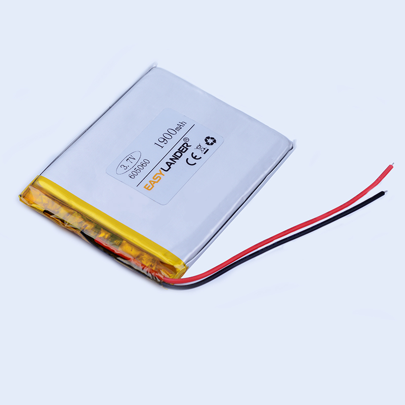 605060 3.7V 1900mAh Rechargeable li Polymer Li-ion Battery For MP3 MP4 gaming Mouse PSP DVR GPS Lampe speaker toys 604959 065060