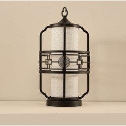 Chiński styl lampy stołowe festiwal światła sypialnia salon lampka nocna do pokoju retro dekoracyjna lampa studyjnej biurko hotelu u nas państwo lampy ZA921