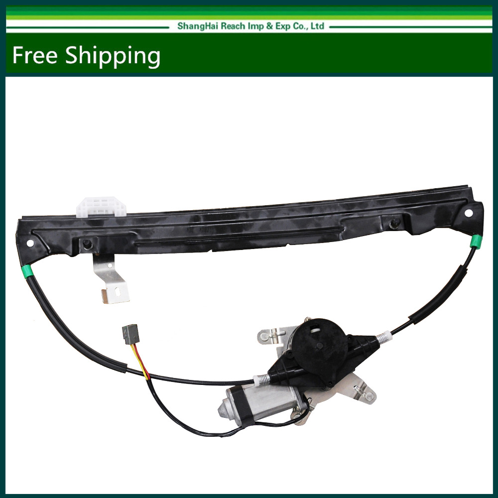 Rear passengers side window regulator w motor for ford mercury lincoln 2002 2010 oe