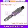Новый масляный регулирующий клапан VVT с переменным временем соленоида OE NO. 24355-3CAA2 243553CAA2 918030 2T1099 TS1099 для Hyundai Kia
