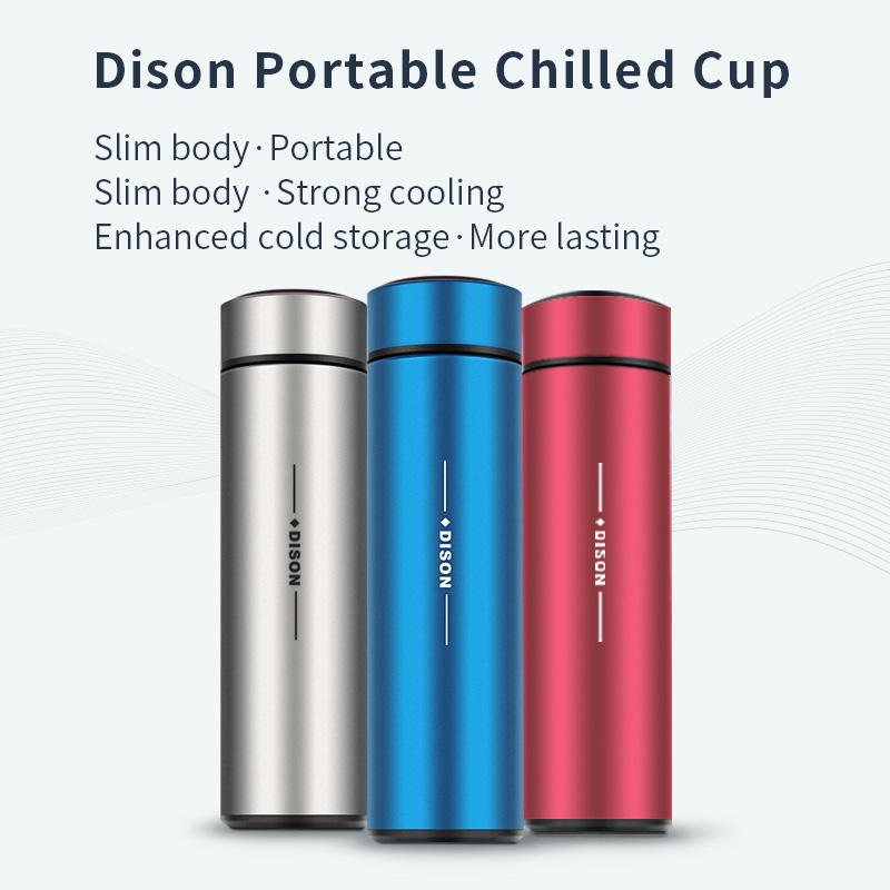 Dison New 36hours Insulin Cooler Flask Mini Portable Insulin Fridge Refrigerated Cup Insulin Pen Cooler Box Portable Bag