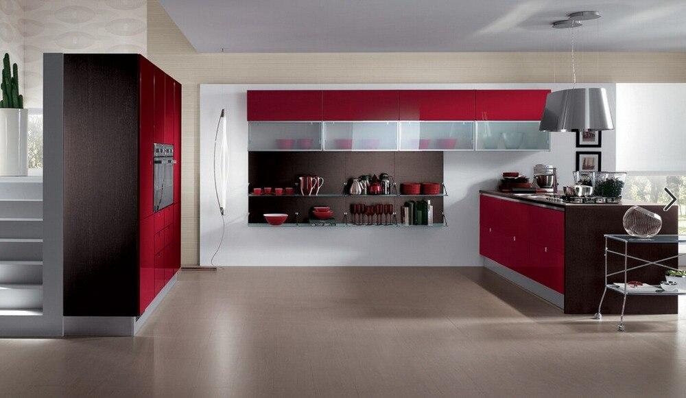 Popular kitchen cabinets red buy cheap kitchen cabinets - Cucine scavolini basic ...