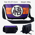 2017 Dragon Ball/ Dragon ball Z Goku Messenger Bag School Bag For Kids Children Boys Girls Canvas Bags 43*27*11CM