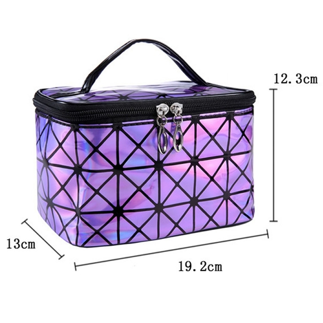Cosmetic PU Leather Make Up Toiletry Kit Bag 3
