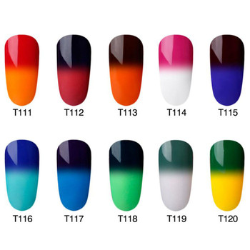 New 2018 Beauty 8ML Temperature Color-Changing Nail Gel Polish UV LED Lamp Gel Nail Polish Cosmetic Makeup Nail Art Decoration Health & Beauty