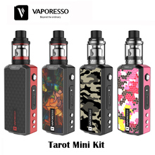 100% Original VAPORESSO Tarot Mini Kit with 80W Tarot Mini Mod & 2ml Veco Tank Electronic Cigarette Vape Box Mod Kit