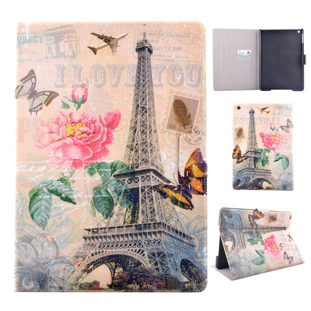 For iPad 2 iPad 3 4 Case Magnetic Leather Stand Filp Wallet Case