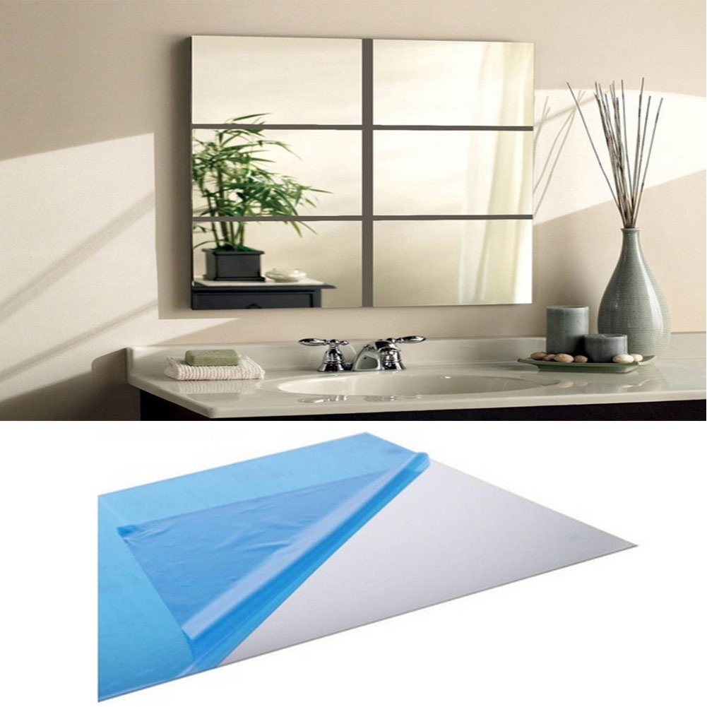High Quality Mirror Foil Wall Stickers