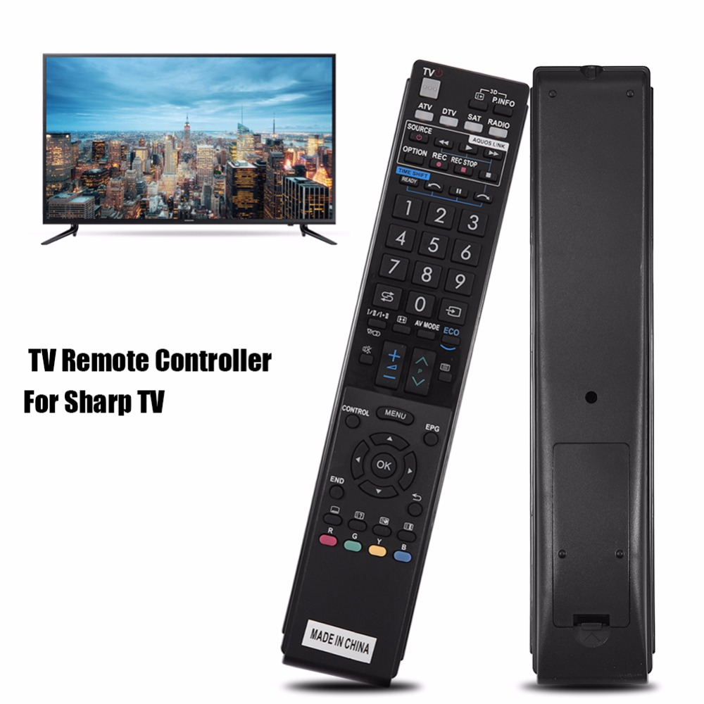 US $4 92 |Portable GA943WJSA Remote Control Replacement Controller For  Sharp LCD LED Smart TV Remote Control -in Remote Controls from Consumer