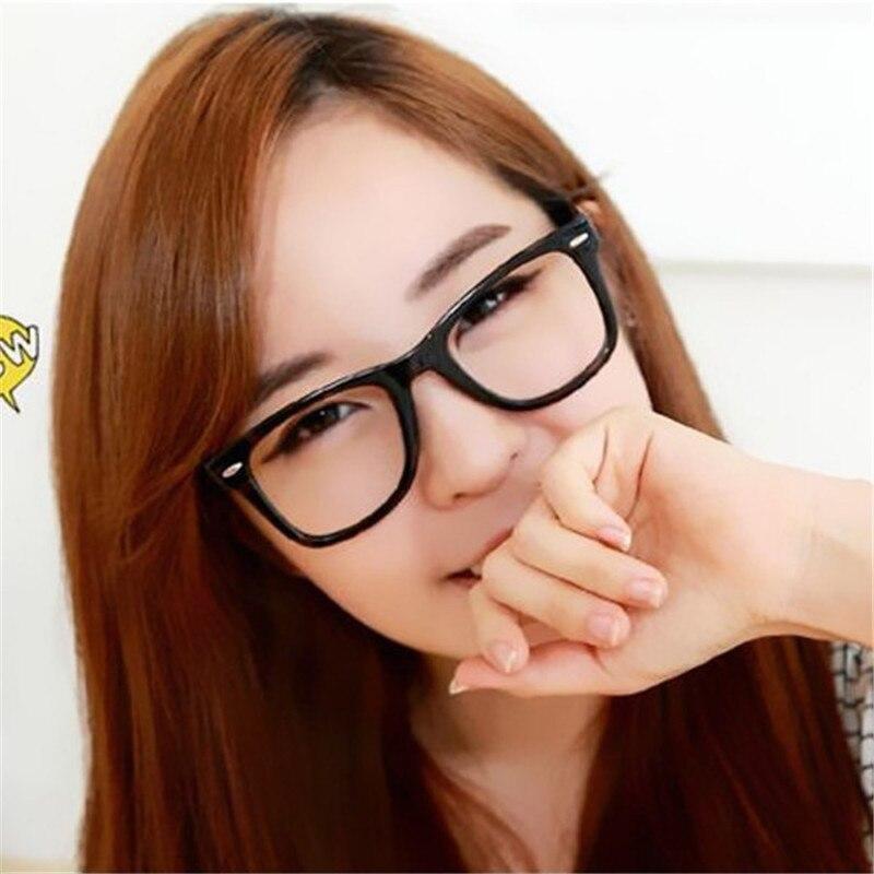 2017 9 colors eyeglasses frames glasses trendy unisex men women eye wear frames clear lens glasses
