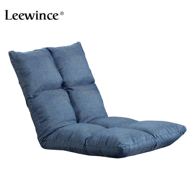 Leewince Folding Sofa Bed Furniture Living Room Modern Lazy Couch Floor Gaming Chair Adju