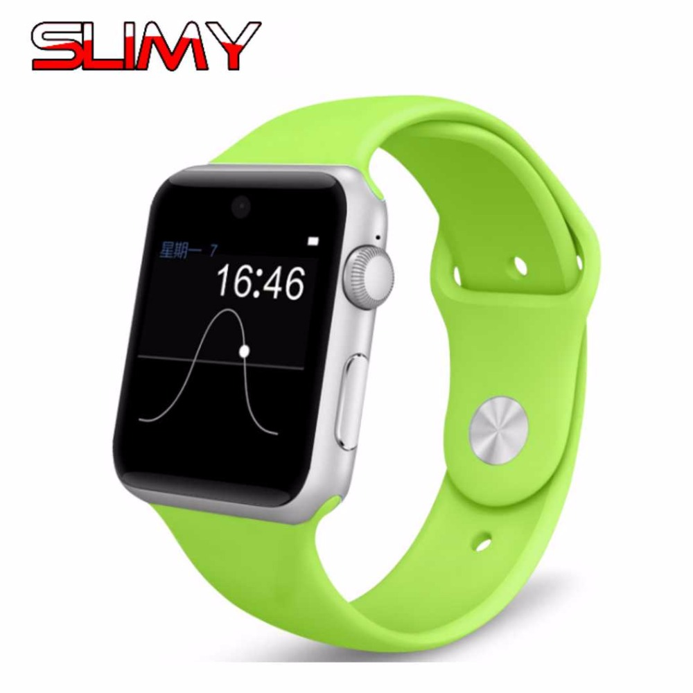 Slimy Bluetooth Phone Smart Watch DM09 With SIM TF Card Sports Watch Fitness Tracker Smartwatch for Apple Android PK A1 DZ09 Q18 slimy 3g wifi gs11s android smart watch 512mb 8gb bluetooth 4 0 real pedometer sim card call anti lost smartwatch pk dz09 gt08
