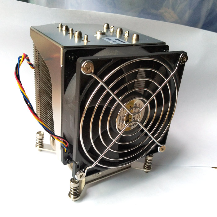 4u 5 Heat Pipe 1356 1366 2011 Radiator 9cm Fan Super Micro Server CPU Cooler Dedicated цена 2017