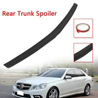 Car Unpainted Rear Trunk Spoiler Wing Boot Lid Spoiler Plastic For Mercedes Benz E Class W212 for AMG 2009 2018