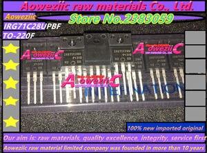 Image 2 - Aoweziic 100% nowe importowane oryginalne G7IC28U IRG7IC28UPBF G71C28U IRG71C28UPBF IRG7IC28U IRG71C28U TO 220Ffield effect tranzystor