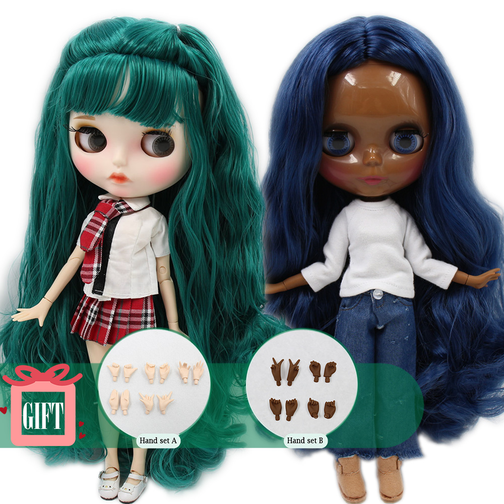 ICY Blyth Factory doll Suitable For Dress up by yourself DIY Change BJD Toy special price-in Dolls from Toys & Hobbies