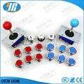DIY аркады пакеты 15 хром осветить кнопки микро кнопка старт 2 аркада 4/8 способ zippy джойстик diy аркады raspberry pi