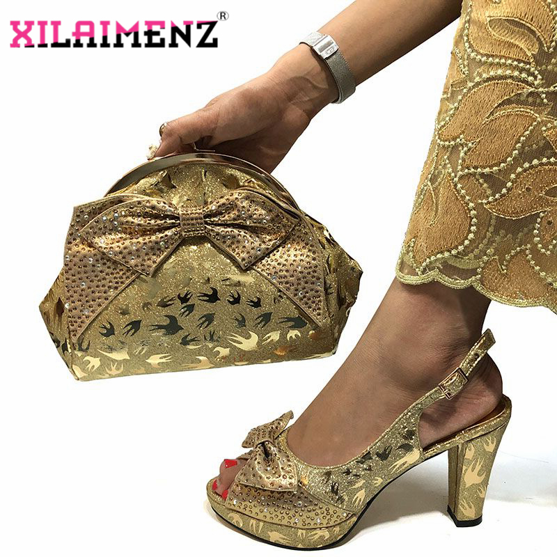 Image 5 - Special Design African Shoes With Matching Bags Set African 