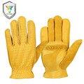 Мужские рабочие перчатки OZERO  Летние кожаные защитные перчатки из натуральной козьей кожи  защитные перчатки для сварочных мотоциклистов  ...