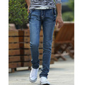 Spring and summer style fashion casual men full length jeans high quality new business pants Free Shipping MF569824