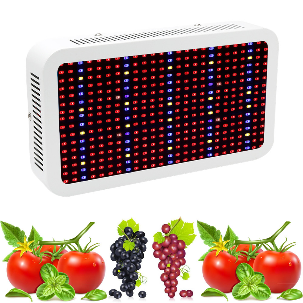 Full Spectrum 400W LED Grow Light Red Blue White Warm UV IR AC85 265V SMD5730 Led