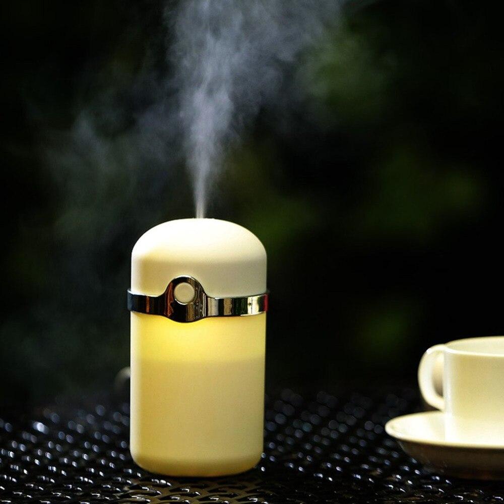 180ML Air Humidifiers Cute Mini Air Purifier Aroma Diffuser Negative Ion Mist Maker Essential Oil Diffuser For Car Home