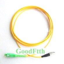 Fiber Patch Cord Jumper Cable SC/APC-FC/UPC SM Simplex GoodFtth 20-50m